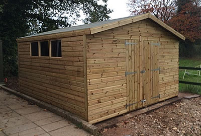 12' x 10' Apex Shed