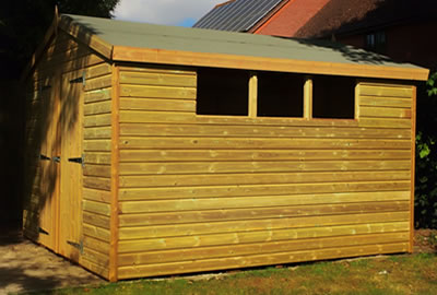 10' x 8' Apex Shed