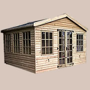 19mm Pressure Treated Loglap Summer Houses