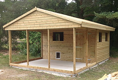 22' X 15' (7.2m x 4.5m) Shiplap Apex Workshop